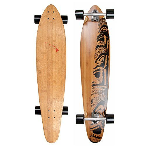 Mike Jucker Hawaii Longboard Bambus MAKAHA