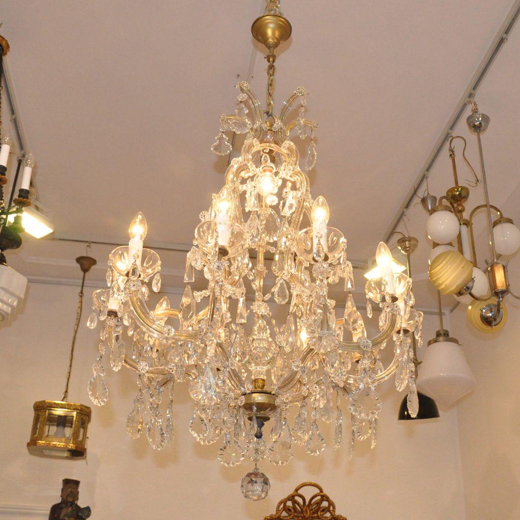 Lüster Maria Theresia Mittelgroß270317_1 (2) #chandalier#crystal# Kronleuchter#lüster#