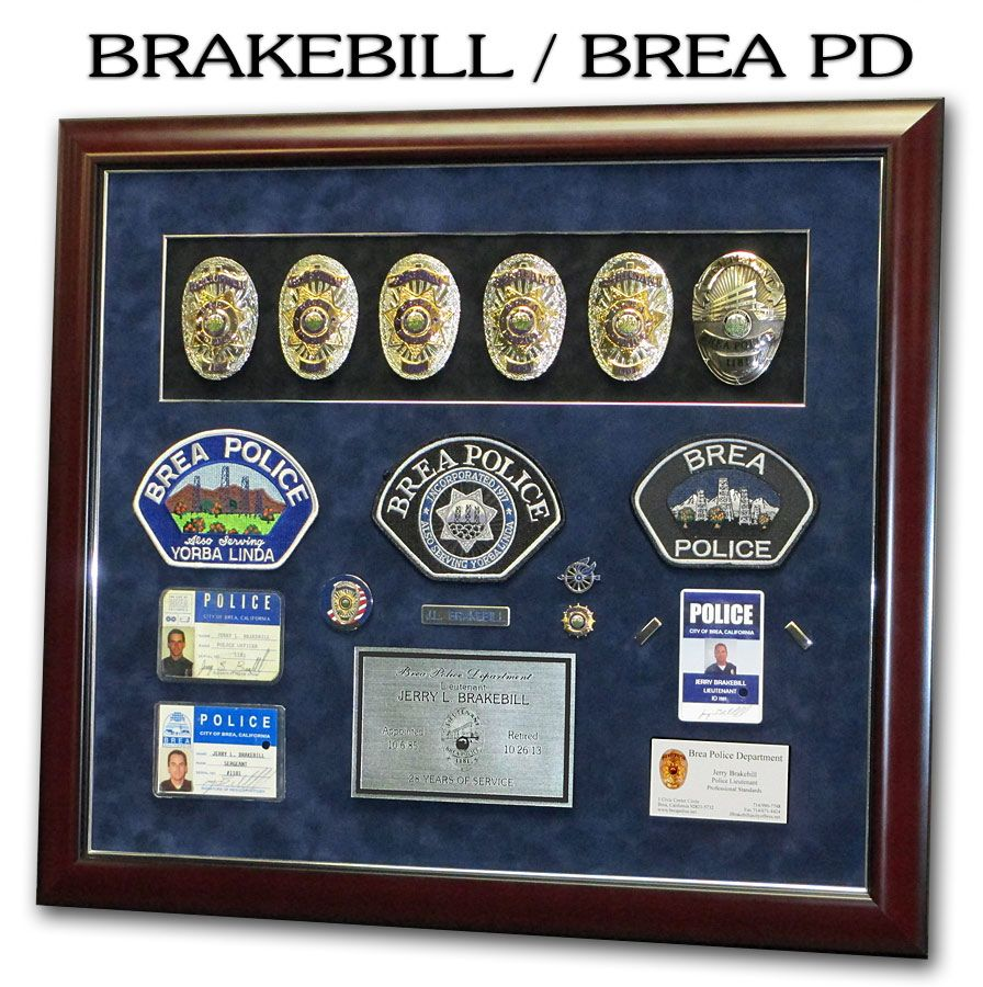 Pin by Badge Frame on Police Standard Frame Presentations