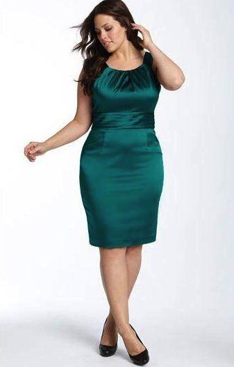 a7b03aaaab30 Muitas mulheres que estão acima do peso ideal evitam usar vestidos, pois  acreditam que ele vai ressaltar as gordurinhas, principalmente a barriga!