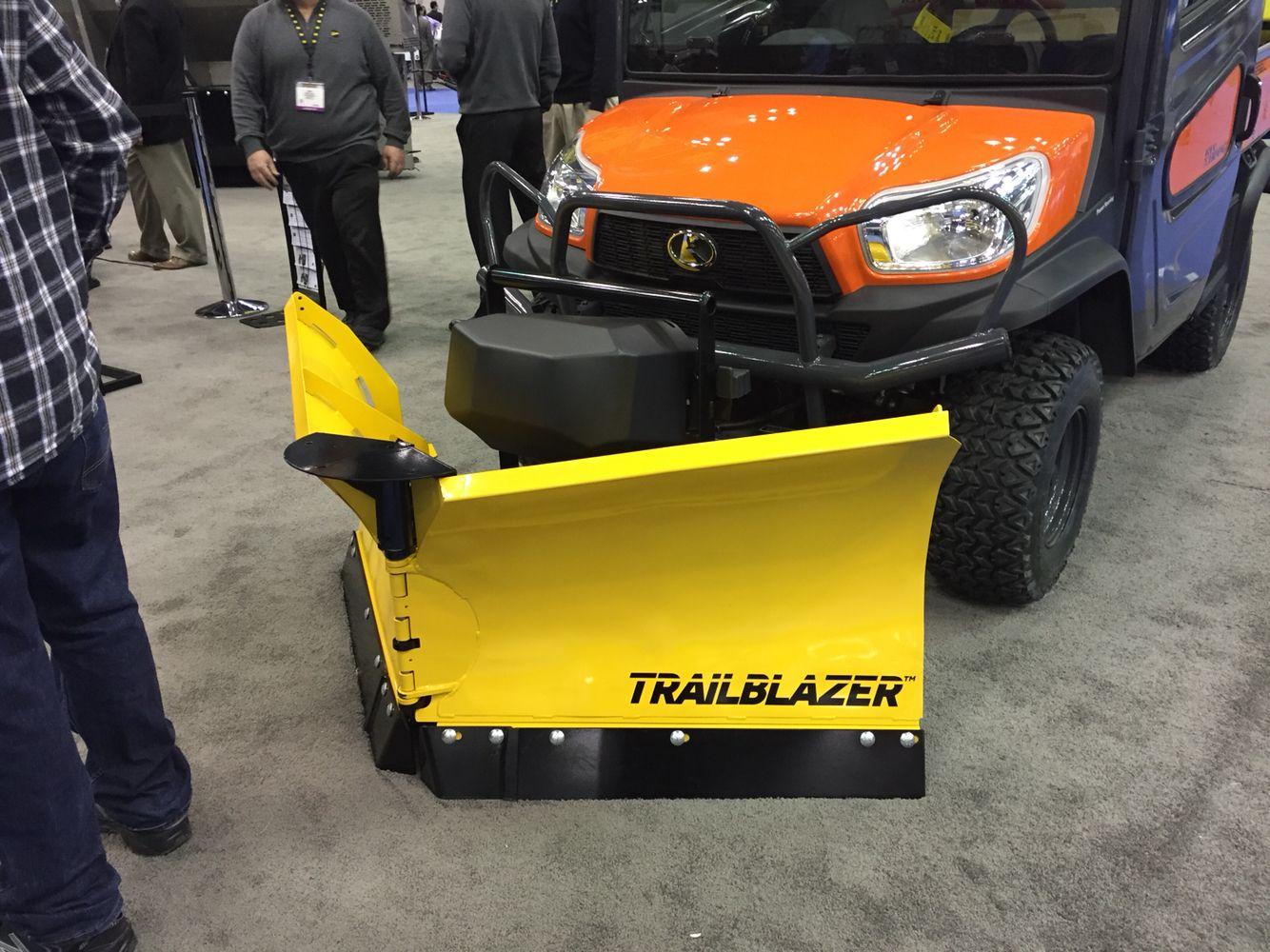 New fisher utv trailblazer snowplow