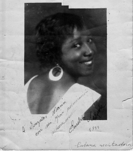 Eusebia Cosme, Cuban actress