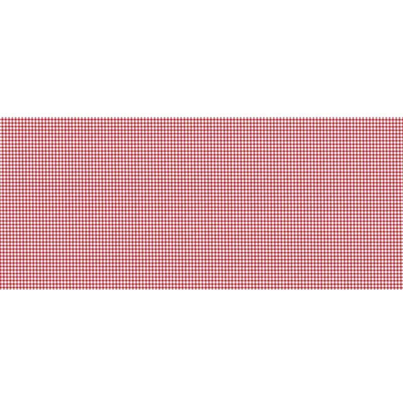 Adhésif décoratif pour meuble vintage effet Vichy – 200 x 45 cm – Rouge – 800652
