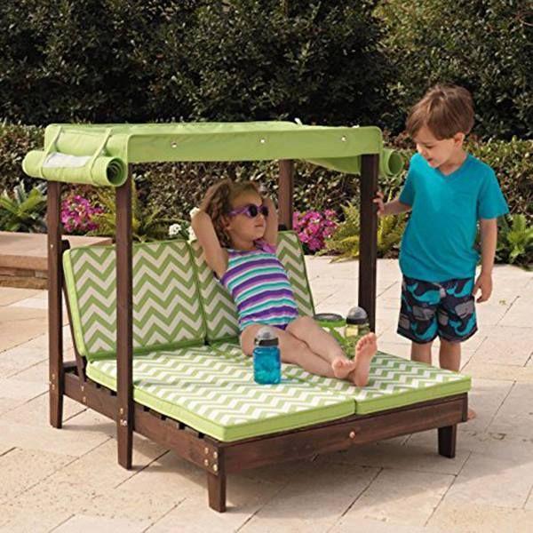 Eine Schone Kinder Mini Lounge Spielbereiche Im Freien Kinder