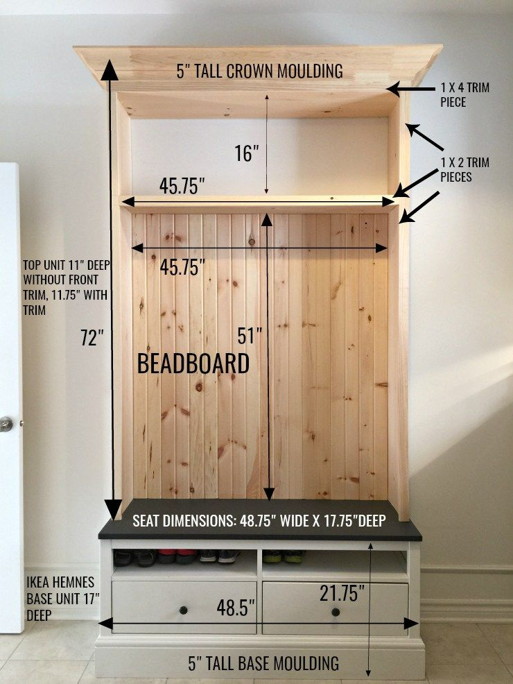 Diy Mudroom Cubby Ikea Hack Willow Bloom Home Mudroom Cubbies Diy Mudroom Bench Ikea Hack
