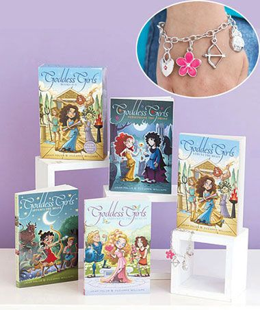 Girls' Popular Fiction Box Sets--Goddess Girls