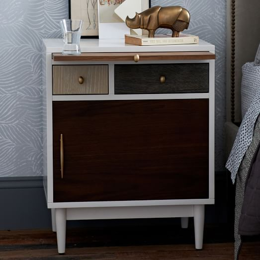 Patchwork Nightstand Multi West Elm