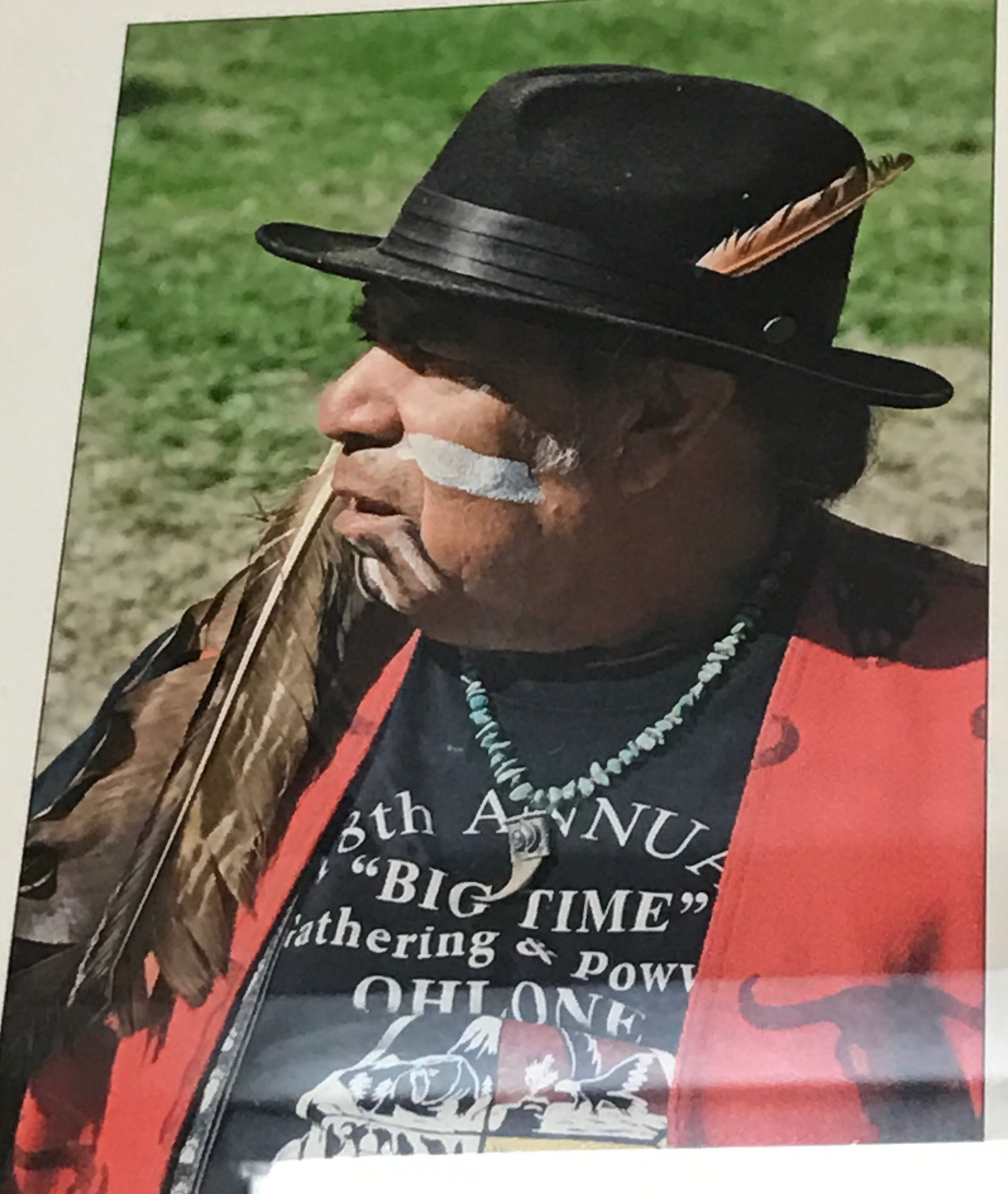 Chief Tony Cerda Costaonaon Rumsen Carmel Mission Indians