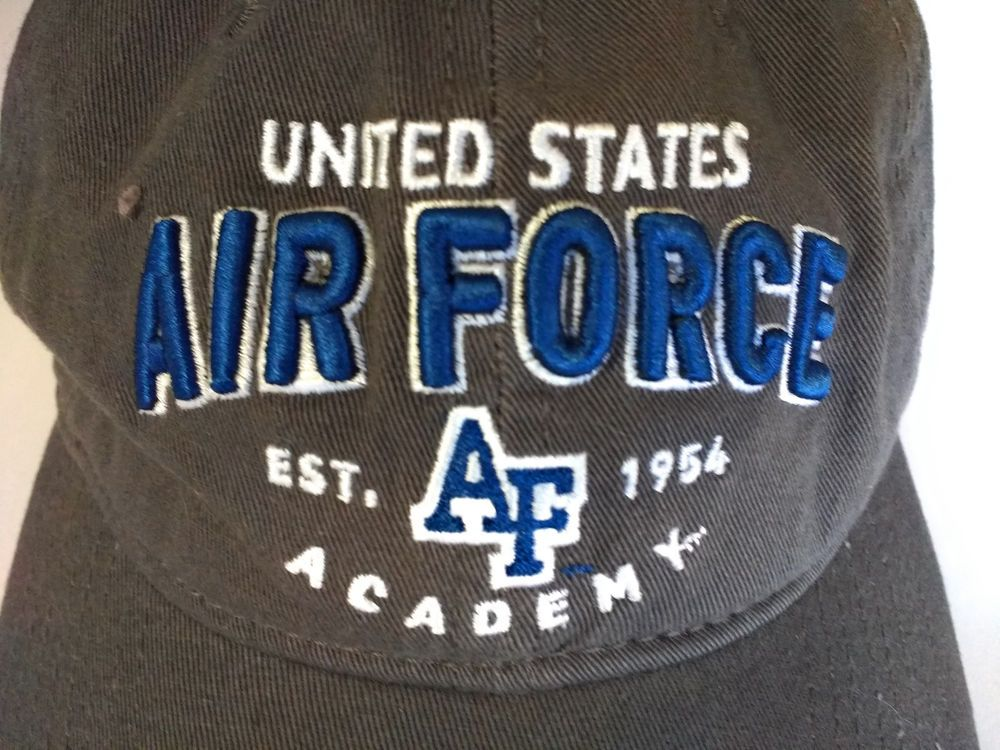 United States Air Force Academy Baseball Style Hat Cap Brown Champion Baseballcap