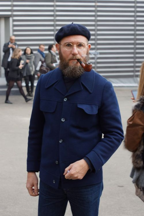 This guy knows whats going on Mens Beret ab62263e594