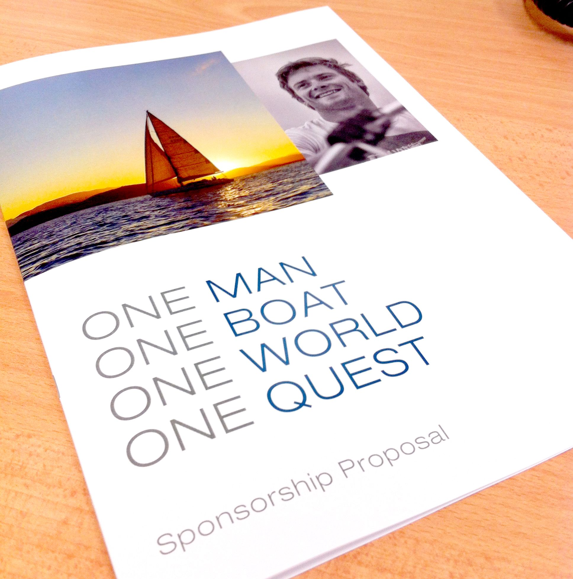 Sponsorship Proposal Booklet Design And Print  Design