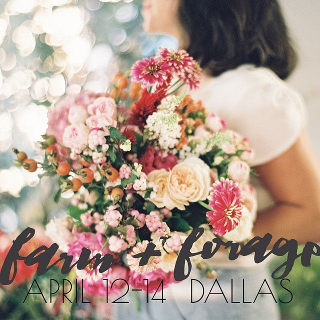 """""""Farm + Forage: A Spring Floral Intensive. In The Studio"""