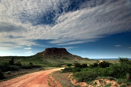 The Antelope Hills near Cheyenne are on the National Registry of Historic  Places as they were a landmark for Sp… | Travel and tourism, Oklahoma  tourism, Travel spot