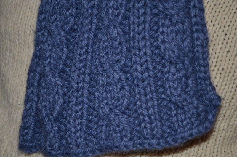 Comment tricoter une jolie écharpe d hiver pour homme     Des Tricots Très  Mimie 669a1d02c9c