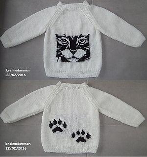 Kattekop pattern by de breimadammen