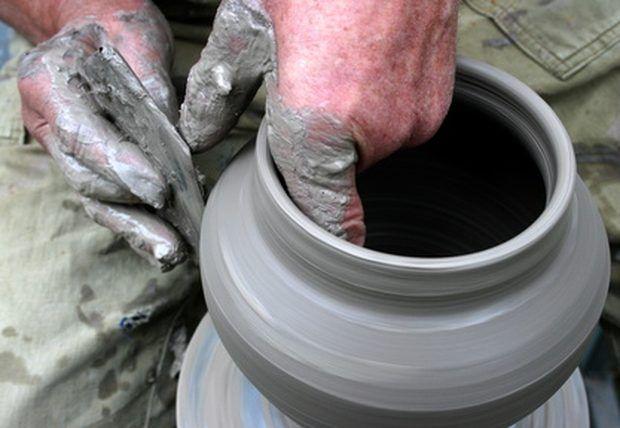 Argila caseira para cerâmica