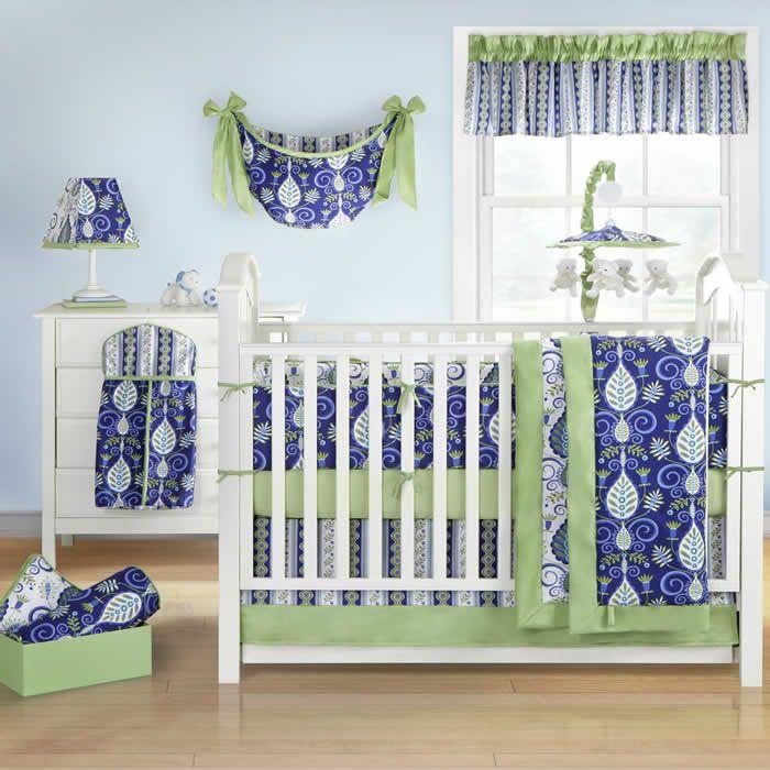 Banana Fish Hayden 4 Piece Crib Bedding Set And Nursery Accessory Items Free Shipping