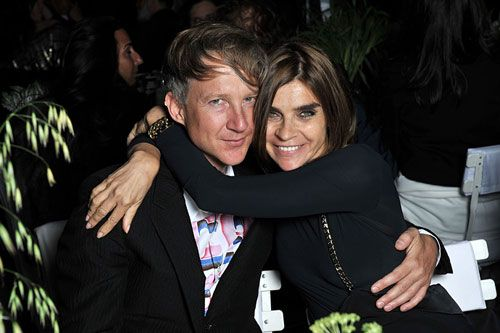 Carine Roitfeld & Jefferson Hack