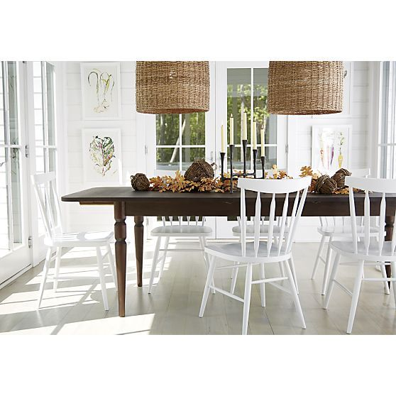 Dining Room Extension Table Beauteous Rustic Centerpiece Candleholder  Crate And Barrel  P2015 Decorating Design