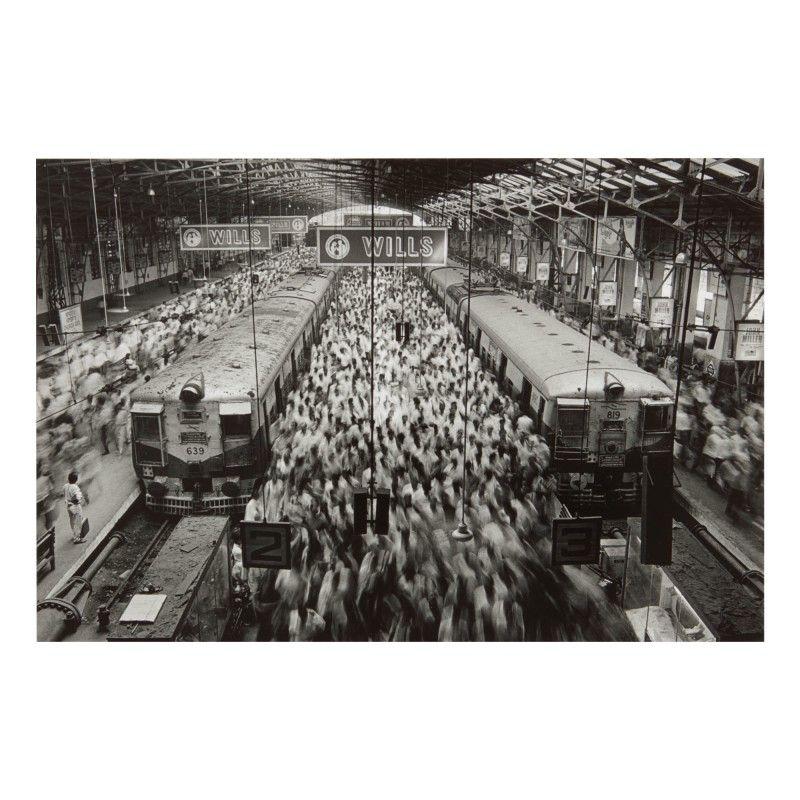 SEBASTIÃO SALGADO | CHURCHGATE STATION, INDIA | Photographs 2020 | Sotheby's