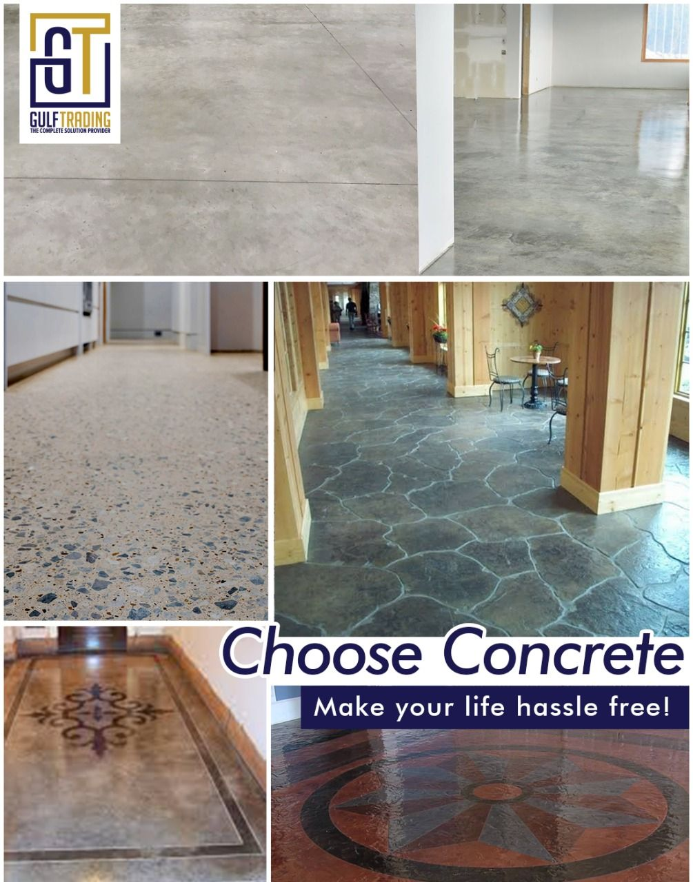 Concrete Flooring Concrete Floors Flooring Terrazzo Flooring