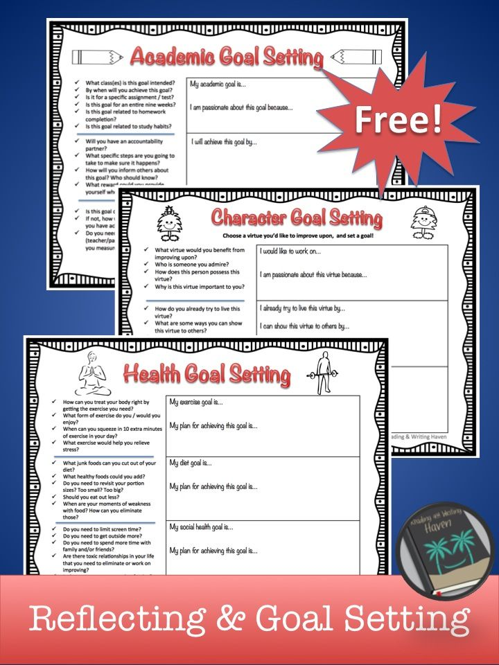 Free resource for student reflecting, goal-setting, and resolutions - resume questions worksheet