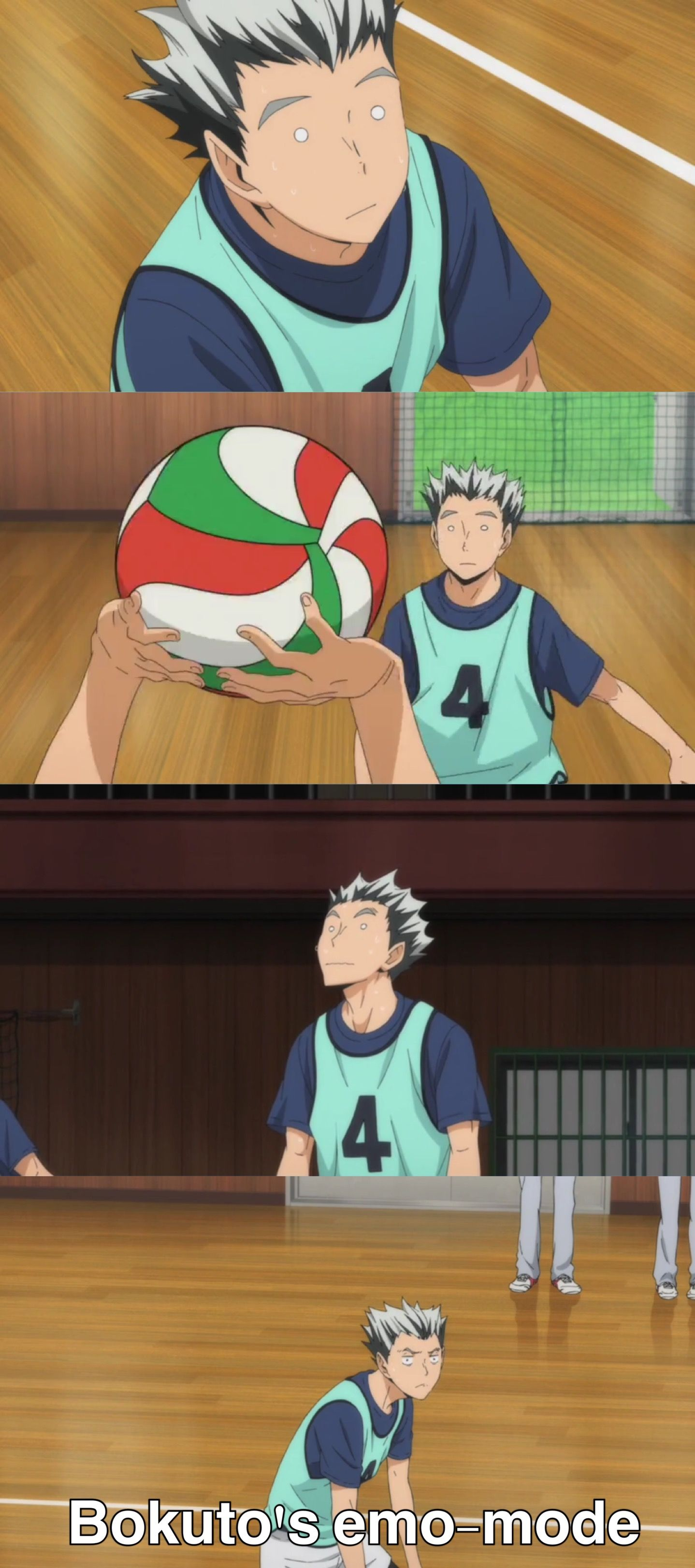 Bokuto: lemme get a spike in    why aren't you spiking to me