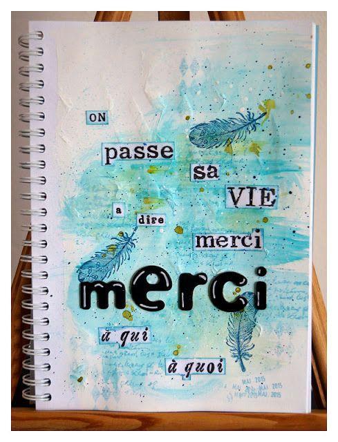 """Positiv Journal - Ma semaine 17 thème On réapprend à dire """"MERCI"""""""