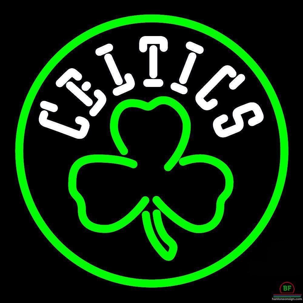 Boston Celtics Neon Sign Nba Teams Neon Light Neon Signs Boston Celtics Neon