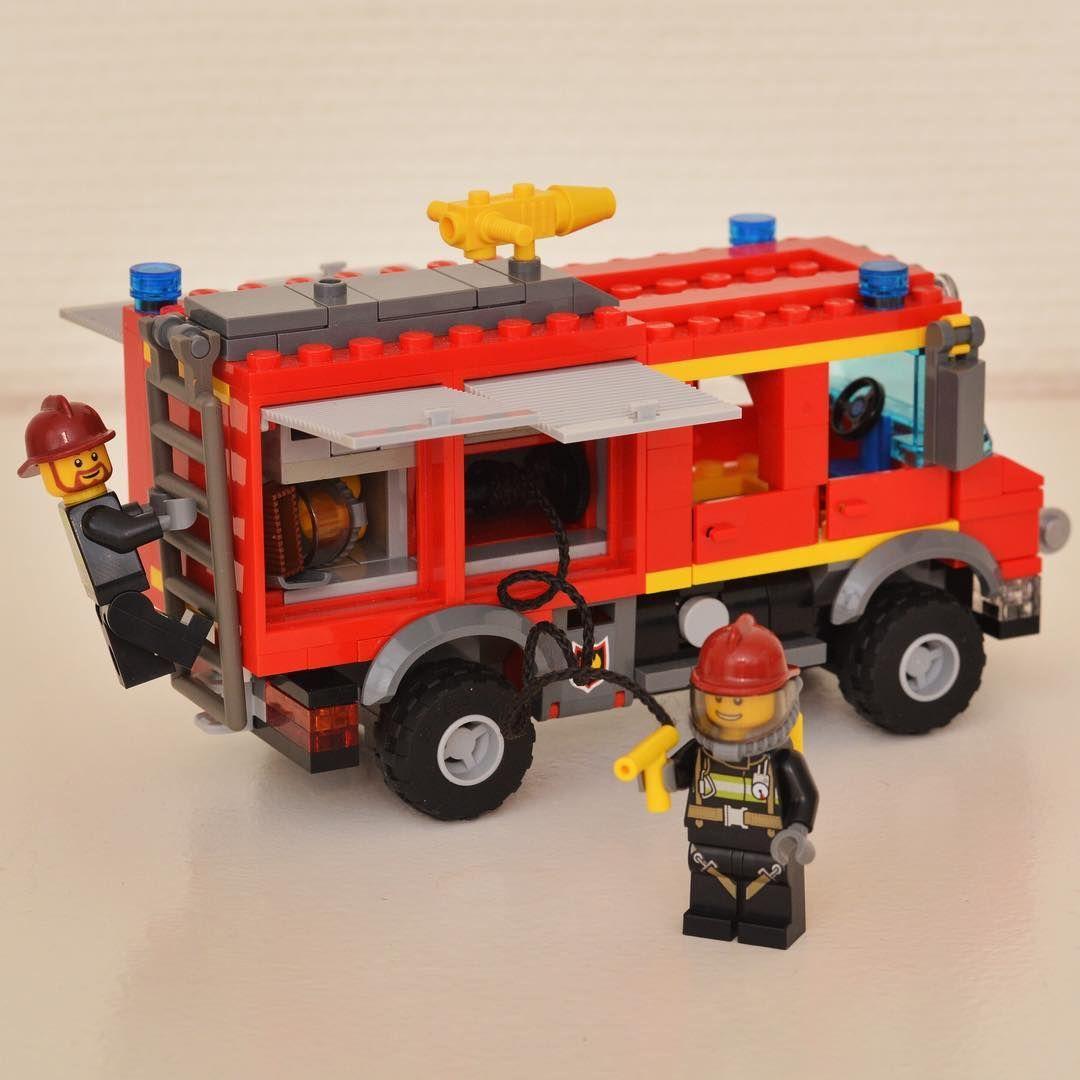 Moderne The unimog terrain #Lego #firetruck #unimog #legocity #mod #moc EV-52