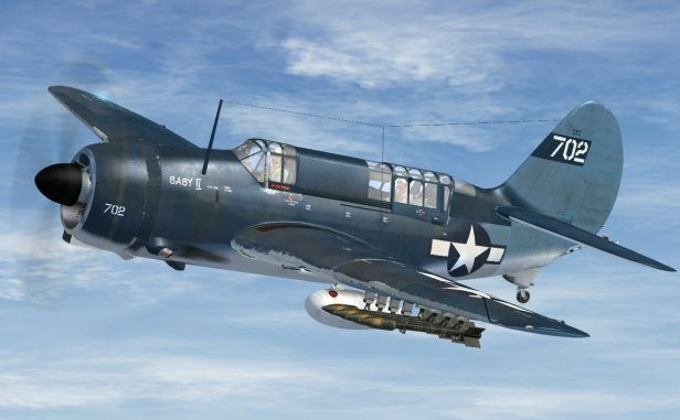 Aeroplane Heaven Releases SB2C Helldiver for FSX and P3D