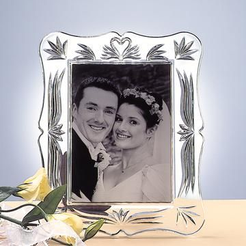 Waterford Crystal Wedding 5x7 Picture Frame | An Irish Wedding ...