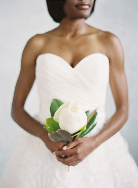 Lush White Wedding Bouquets