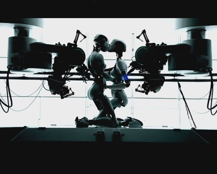Bjork As Robots In The Music Video All Is Full Of Love Hd With