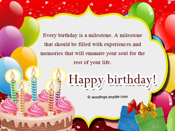 Best 101 Happy Birthday Wishes Messages And Greetings