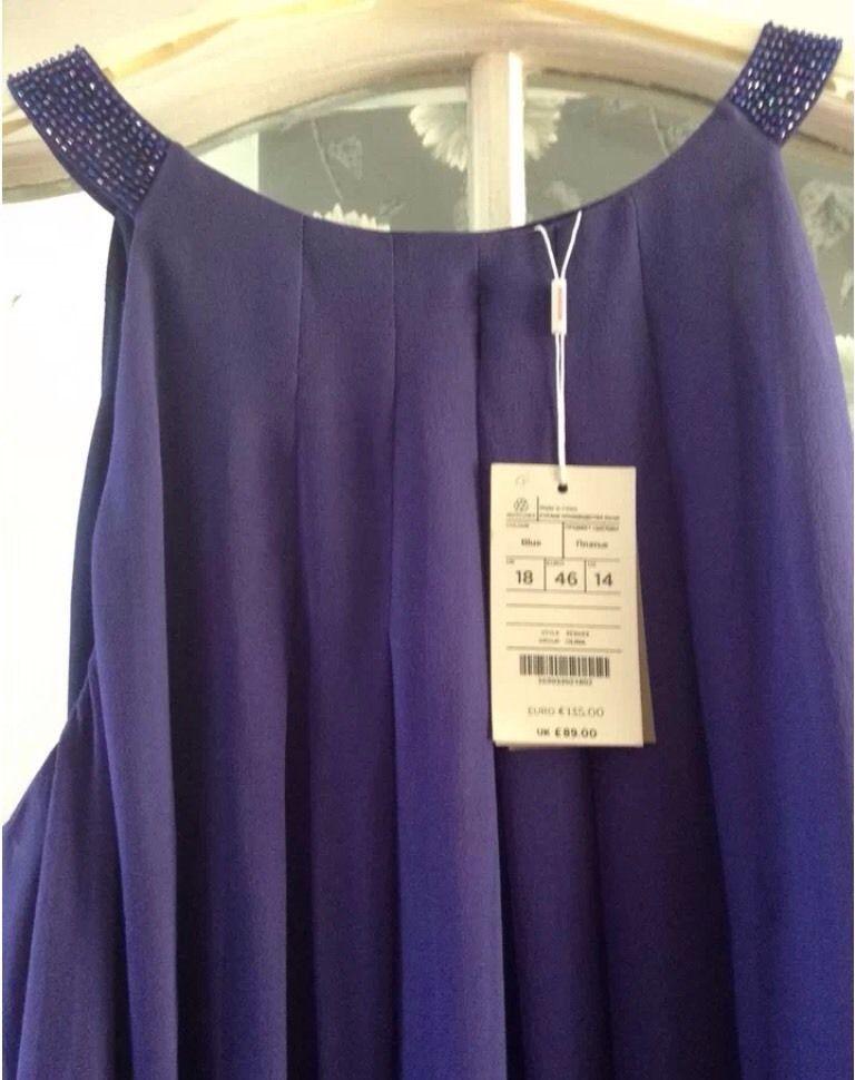 Monsoon Silk Dress - Size 18 - BNWT | Надо попробовать | Pinterest ...