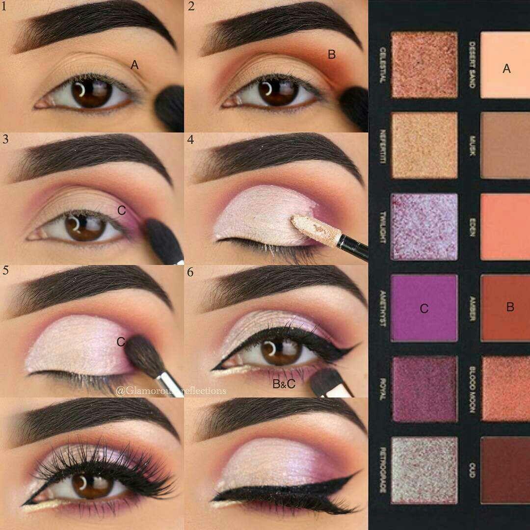 Pinterest IIIannaIII Eye makeup steps, Makeup, Best