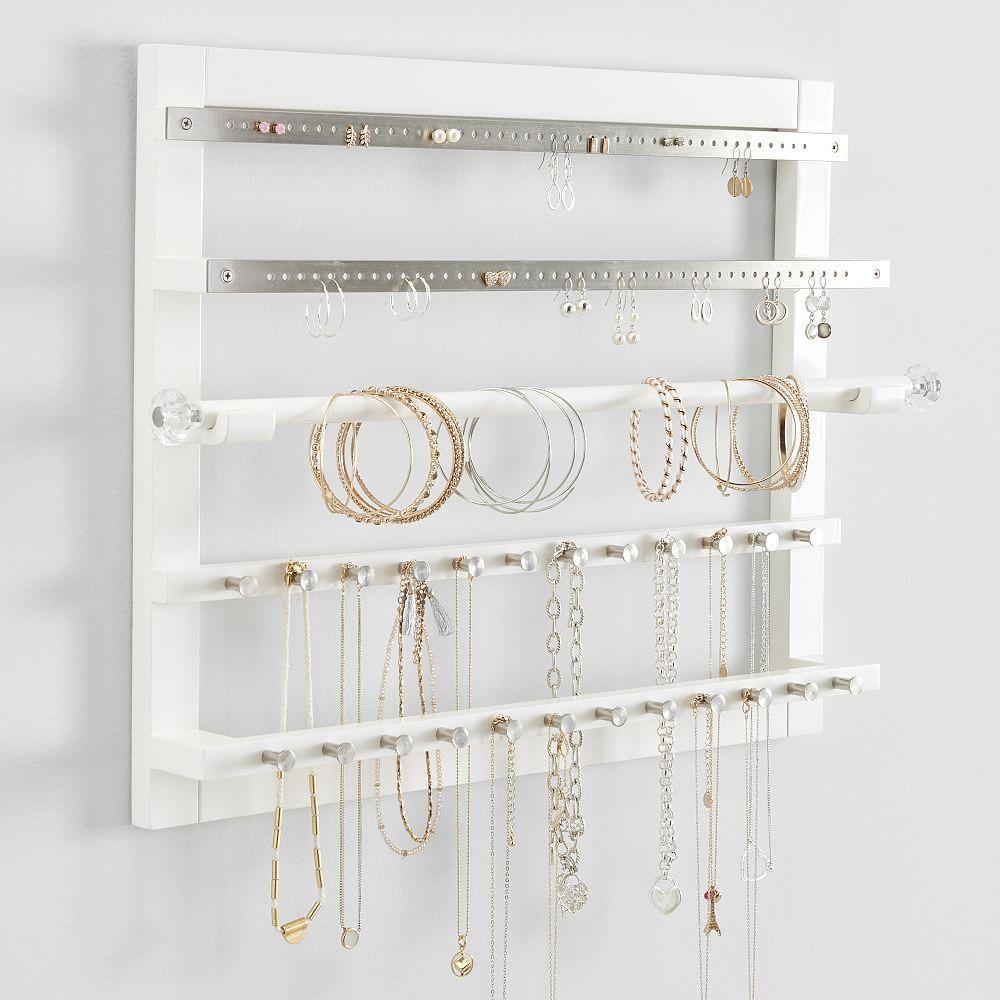 Chloe Wall Jewelry Storage In 2021 Jewelry Organizer Wall Jewelry Wall Jewellery Storage