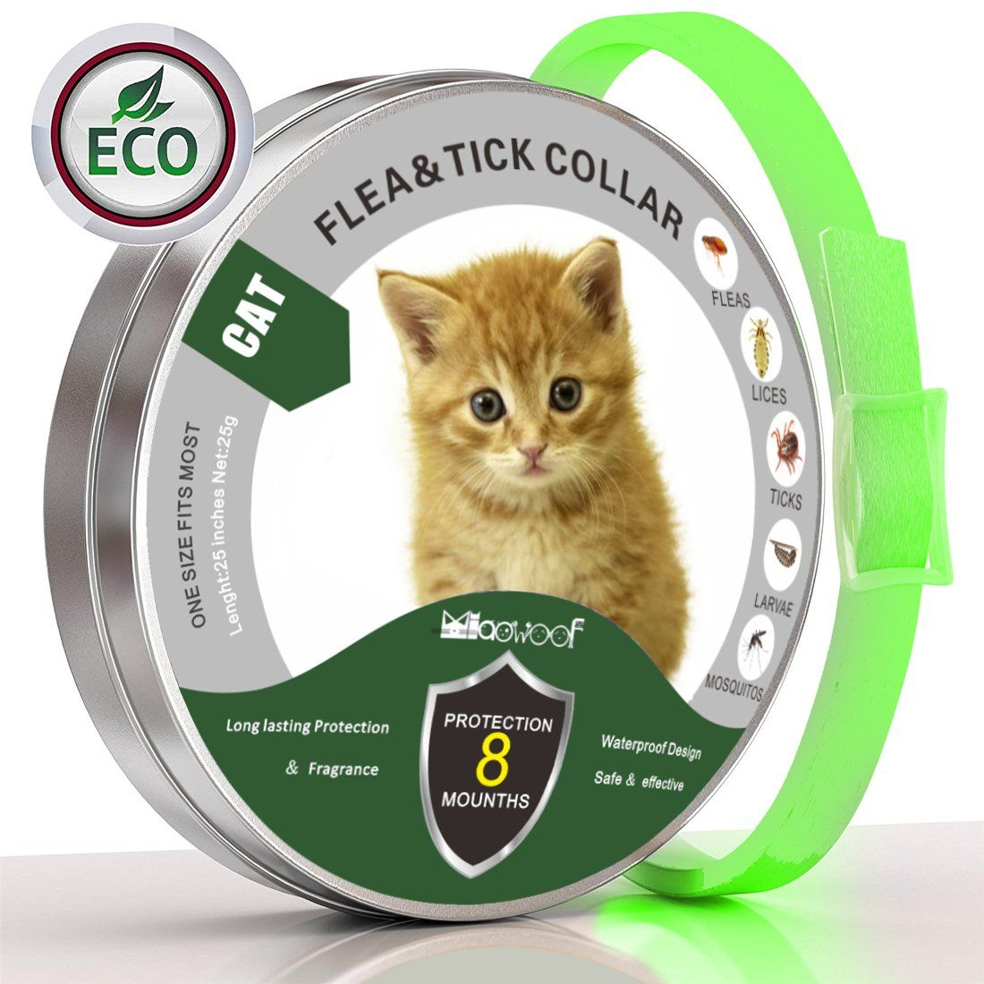 Flea And Tick Prevention For Cats Cat Collar For All Weights 8 Month Protection 13 Inch We Do Hope You Actual In 2020 Cat Collars Tick Prevention Fleas