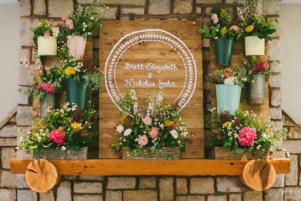 Martha Stewart Weddings - Brett And Nick