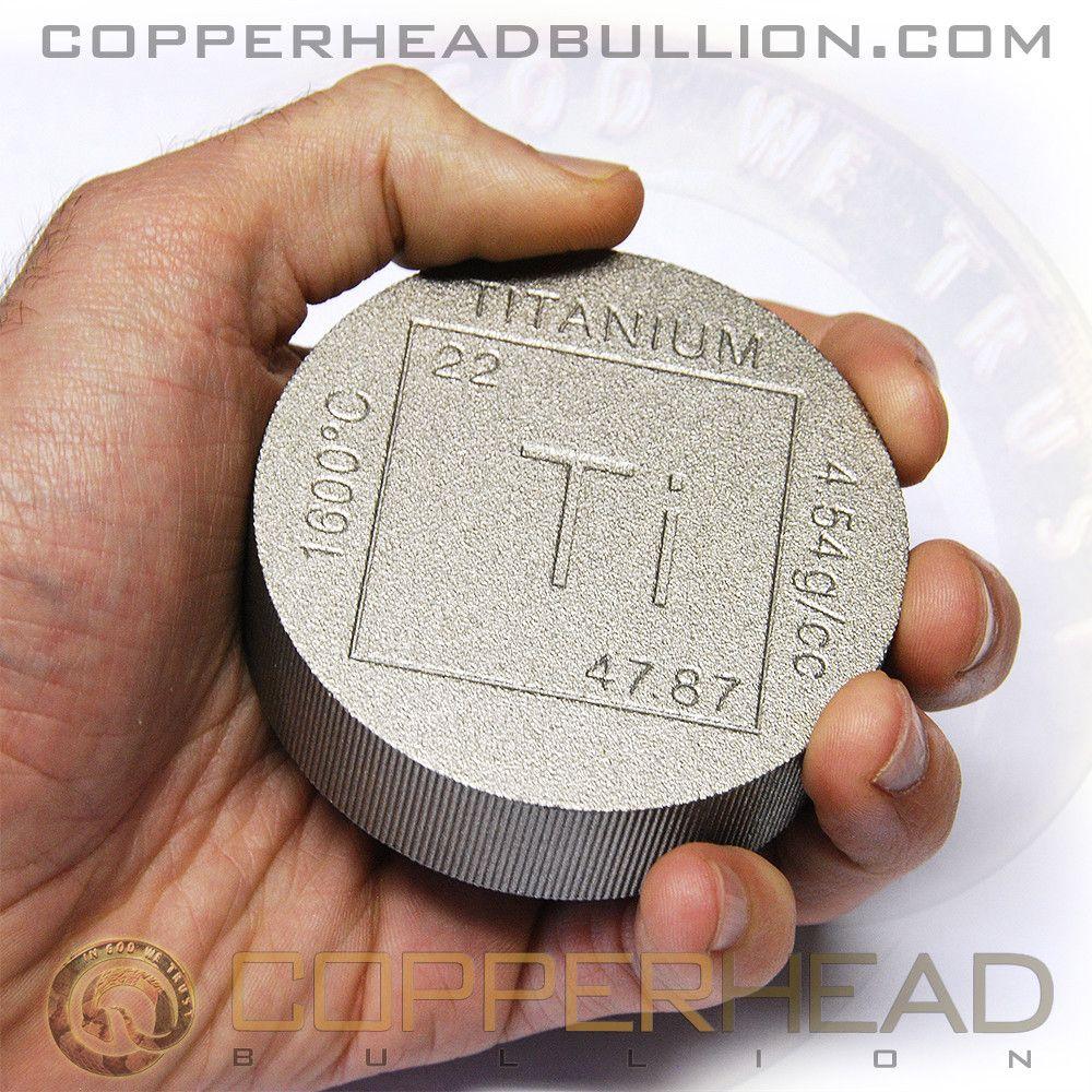 1 Pound Titanium Round Element Design One Pound Round Bar Pound