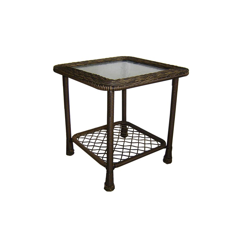 Attractive Shop Garden Treasures Severson Square End Table At Lowes.com · Patio Side  ...