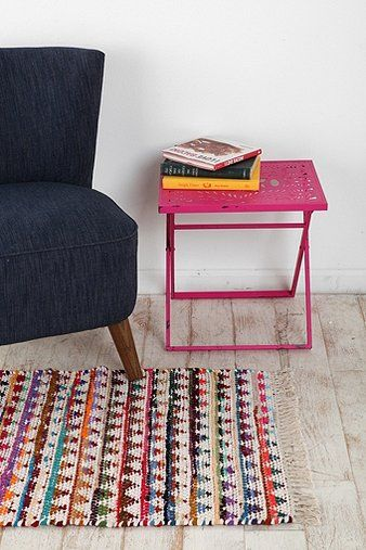colorful and rustic rug - perfect for my kitchen #rug #urbanoutfitters