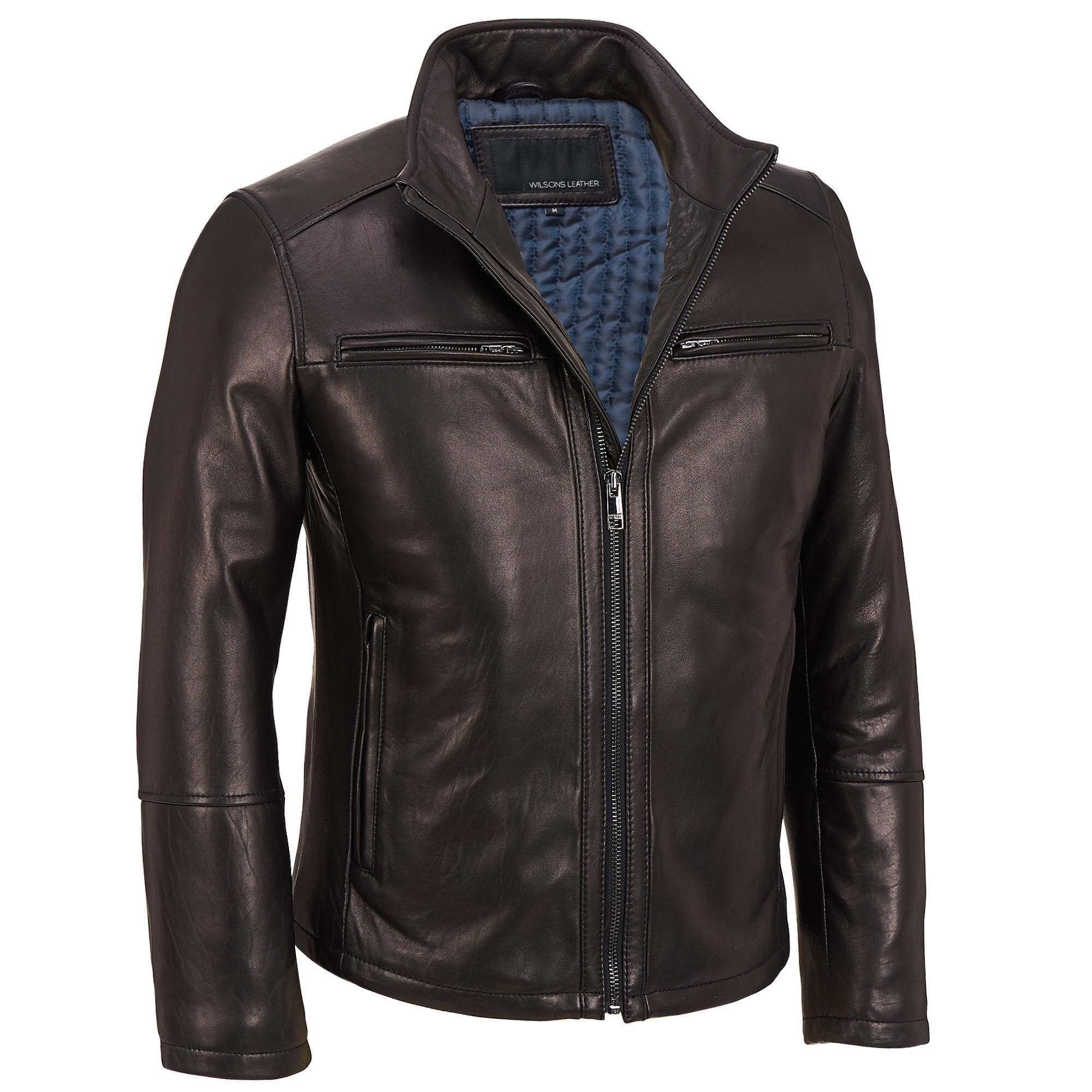 View All Men S Big Tall Leather Jacket Blue Jacket Men Mens Blue Leather Jacket [ 2000 x 2000 Pixel ]