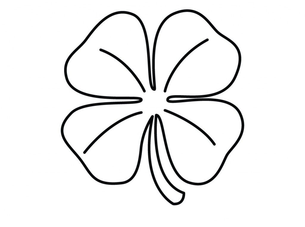 Printable Shamrock Coloring Pages Kids - Colorine.net | #8863 ...