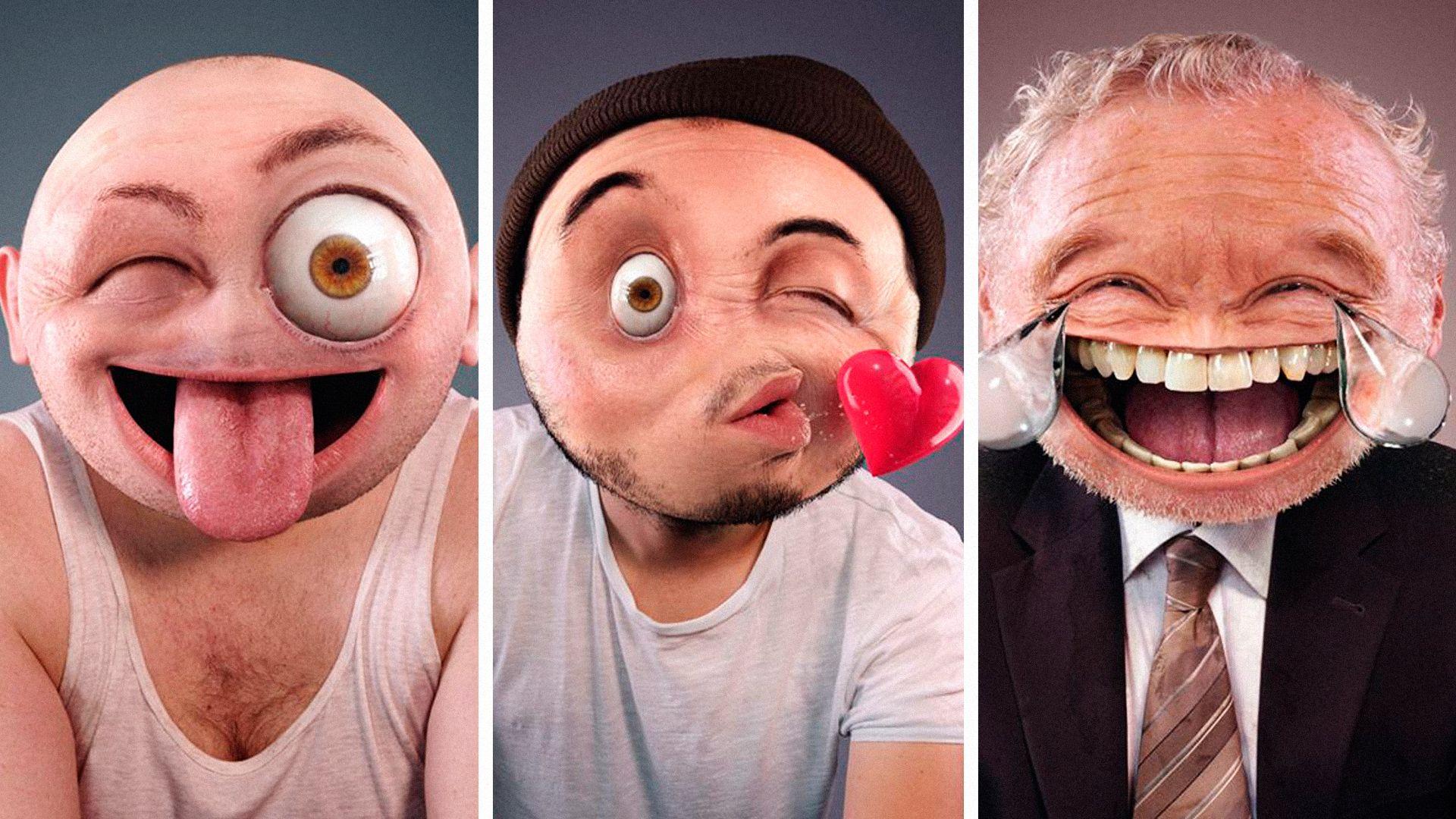 Смешные картинки вместо лица, тетеньки картинки приколами
