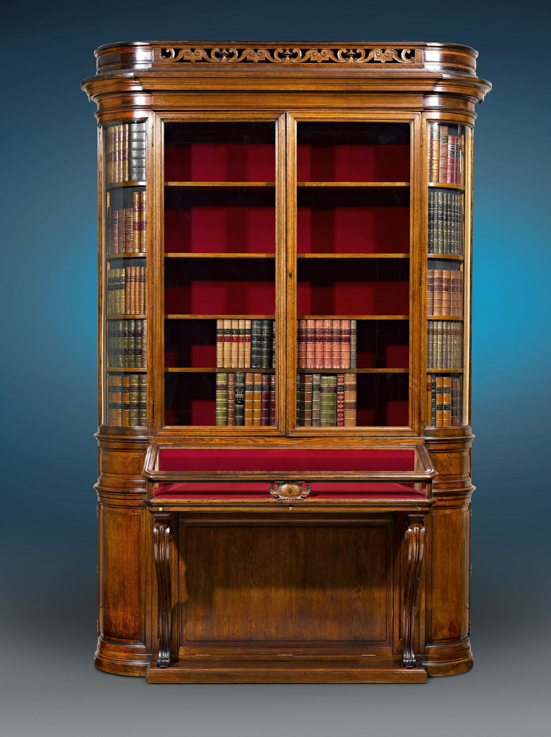 choose victorian furniture. Antique Furniture, English Victorian Oak Display Cabinet ~ M.S. Rau Antiques Choose Furniture R