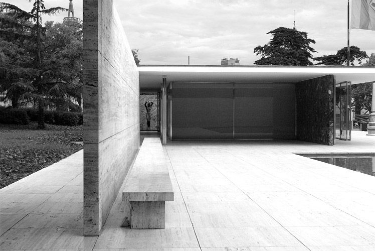 Barcelona Pavilion Ludwig Mies Van Der Rohe Arquitectura