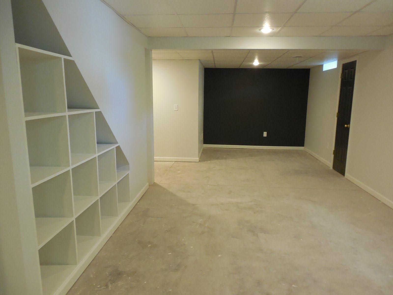 Finished basement storage underneath stairs home basementgarage