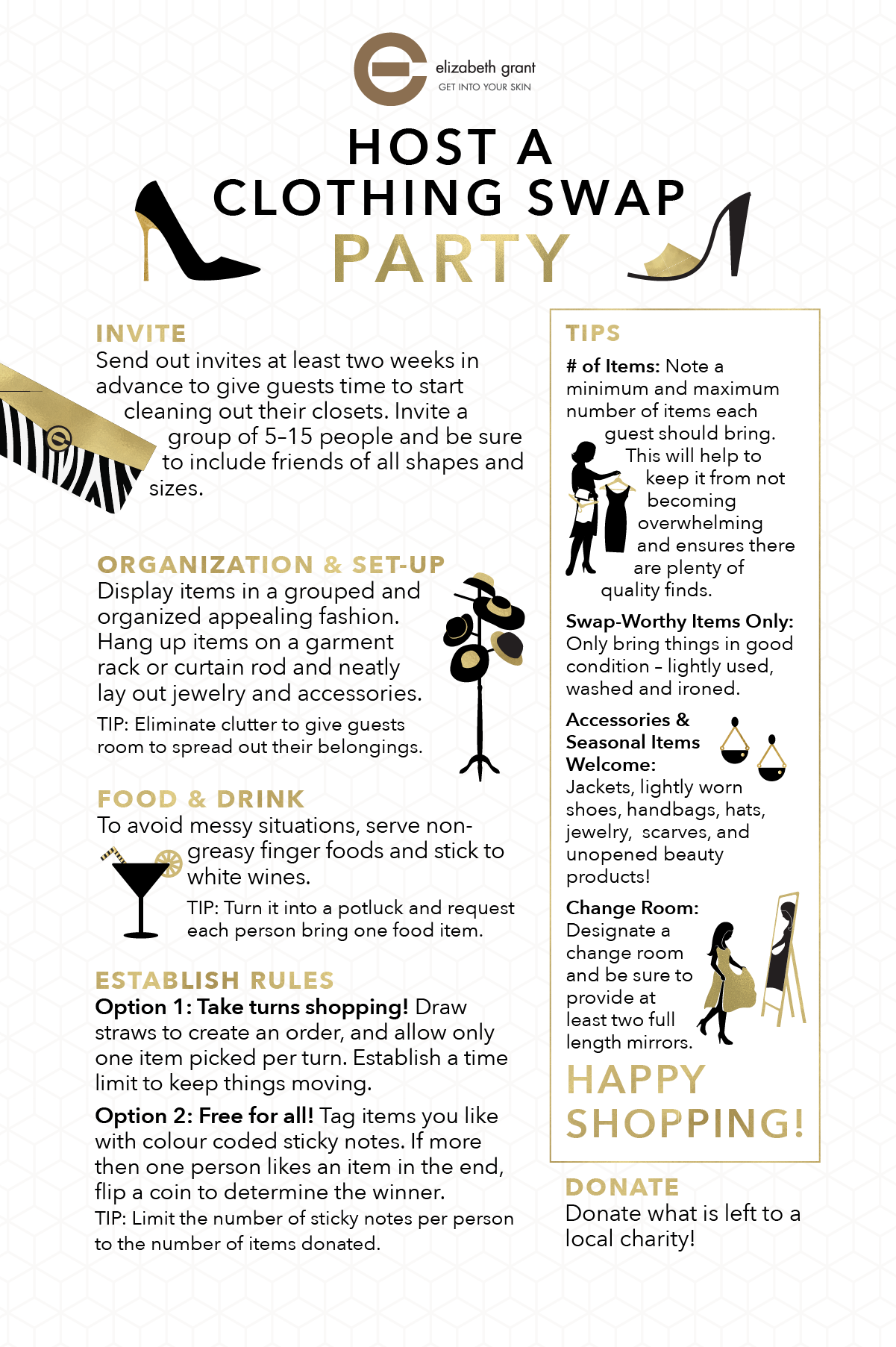 How to host a clothing swap party: Spring has sprung and it\'s time ...